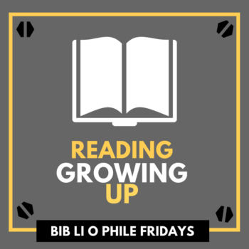Books Reading Growing Up Bibliophile Fridays