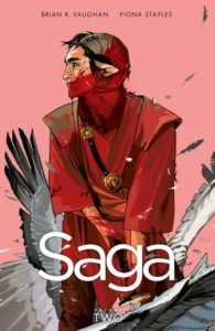 Saga Volume 2 by Brian Vaughan and Fiona Staples