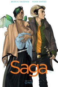 Saga Volume 1 by Brian Vaughan and Fiona Staples