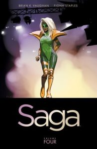 Saga Volume 4 by Brian Vaughan and Fiona Staples