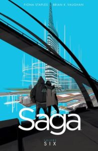 Saga Volume 6 by Brian Vaughan and Fiona Staples