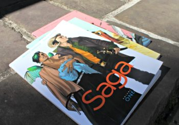 Book Review of Saga Graphic Novels by Brian Vaughan and Fiona Staples