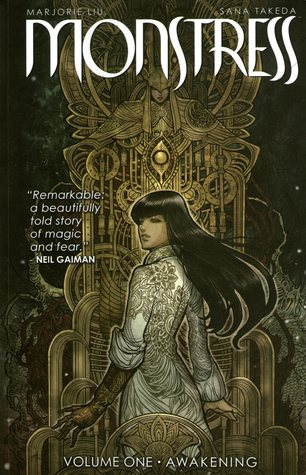 Book Review Monstress by Marjorie Liu and Sana Takeda