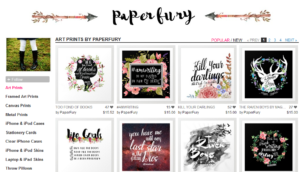 Paperfury Society6