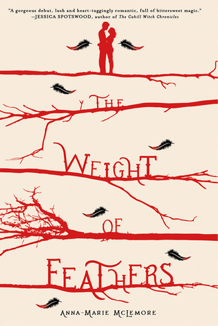 Book Review of the Weight of Feathers by Anna Marie McLemore