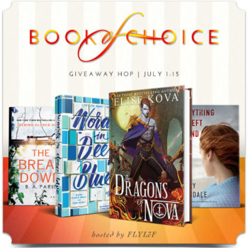 July Book of Choice Giveaway