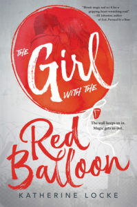 Book Review The Girl with the Red balloon by katherine locke
