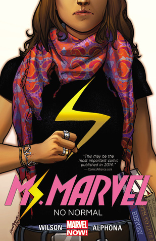 Book review Ms. marvel by G Willow Willson