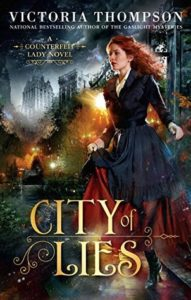 Book review City of Lies by Victoria Thompson
