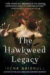book review the hawkweed legacy by irena brignull