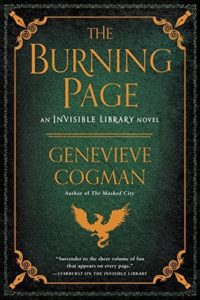 book review The Burning Page by Genevieve Cogman