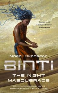 book review Binti the Night Masquerade by Nnedi Okorafor