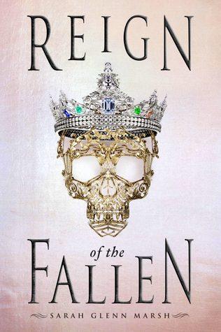 book review Reign of the Fallen by Sarah Glenn Marsh