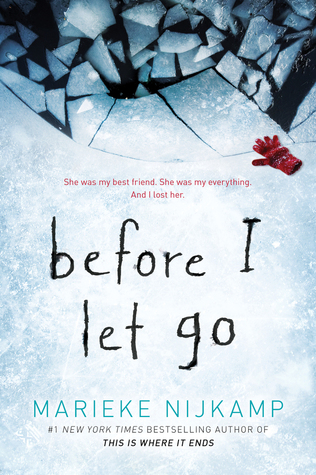 book review Before I let Go by Marieke Nijkamp