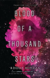 book review Blood of a Thousand Stars by Rhoda Belleza