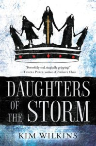 book review Daughters of the Storm by Kim Wilkins