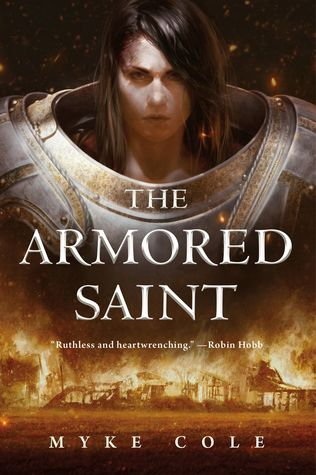 book review The Armored Saint by Myke Cole