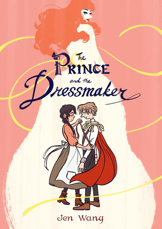 book review The prince and the dressmaker by jen wang