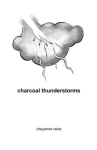 book review charcoal thunderstorms by cheyenne raine