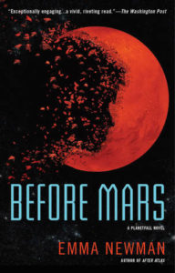 book review Before mars by emma newman