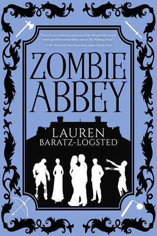book review Zombie Abbey by Lauren Baratz-Logsted