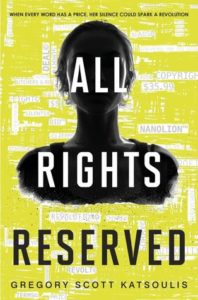 book review all rights reserved by Gregory Scott Katsoulis