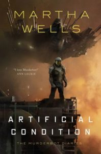 book review artificial condition by martha wells