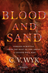 book review blood and sand by cv wyk