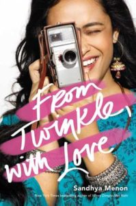 book review from twinkle with love by sandhya menon