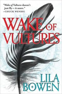book review wake of vultures by lila bowen