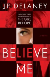 book review believe me by jp delaney