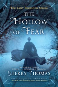 book review the hollow of fear by sherry thomas